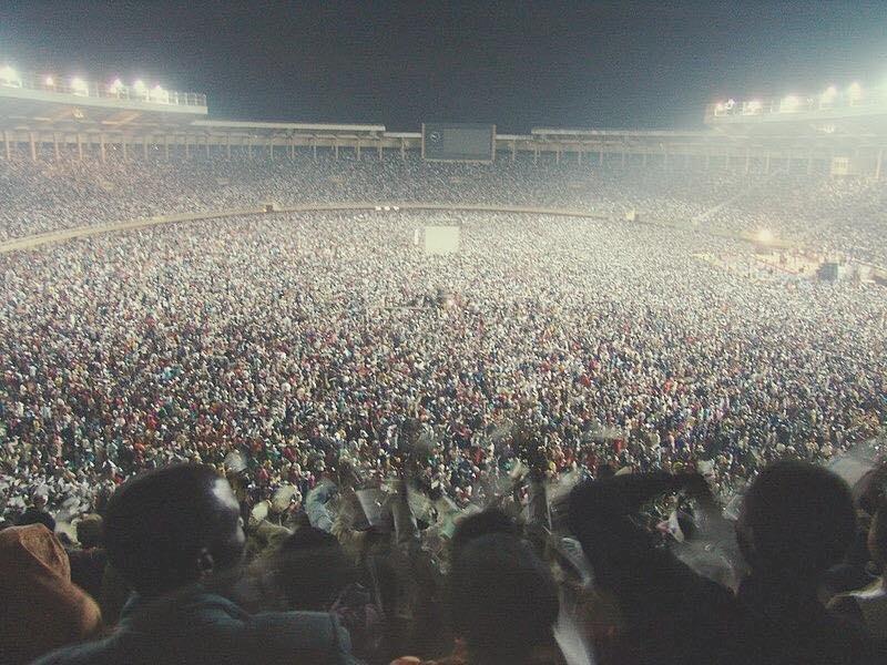 Frank @ Nelson Mandela Stadium