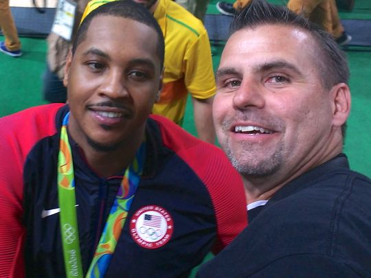 Olympics Carmelo Anthony