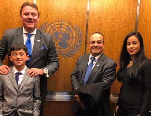 Meeting @ UNITED NATIONS